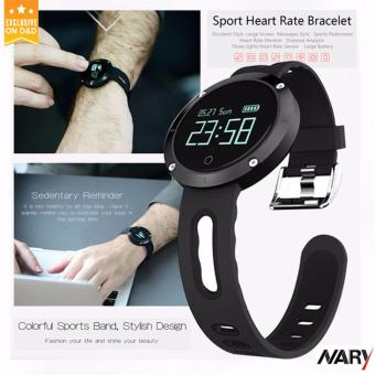 How To Buy Nary Dm58 Smart Watch Bluetooth Heart Rate Blood Pressure Monitor Health Tracker Ip68 Water Resistant Compatible With Ios Android Philippines ...