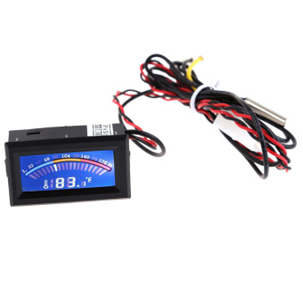 Digital Thermometer Temperature LCD Meter Gauge PC Mod C/F withLong Probe . (Intl