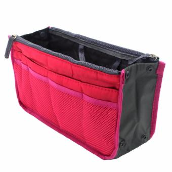 Dual Bag in Bag Organizer (Pink)
