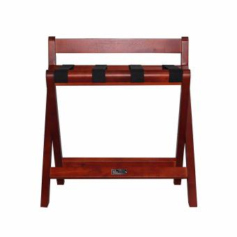 Easton Wooden Luggage Rack Mahogany