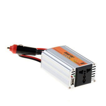 Easybuy 200W Outlets Power Inverter DC 12V to AC 220V Car AdapterLaptop Smartphone (Intl)