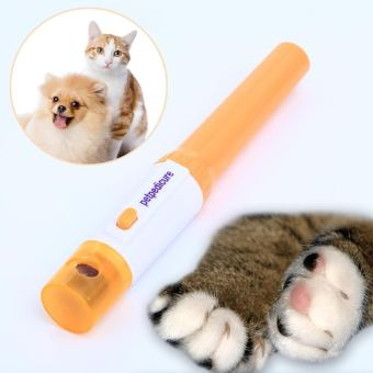 Electric File Trimmer PediPaws Quick Safe Pets Nail Cutter Groomer Tool