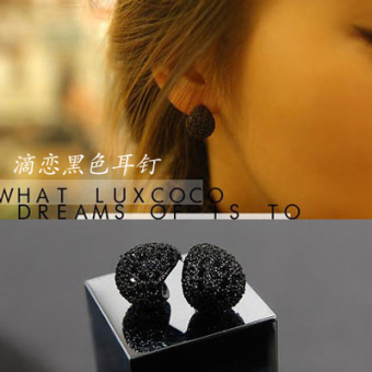 European and American female elegant exaggerated large earrings cool stud