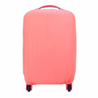 Extra Thick Suitcase Protective Anti-Scratch Luggage Cover Pink (L26in to 30in)