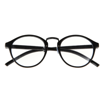 Eyeglasses Frame Optical Reading Eye Plain Glasses Black