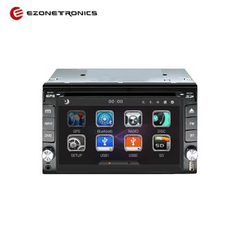 Ezonetronics 2 Din Win CE6.0 Universal Car Multimedia Player DVD Stereo Radio 6.2 inch Touch Screen GPS Navigation Bluetooth----RM-LC0356