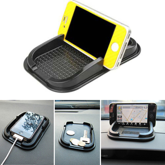 Fancytoy Black Car Dashboard Sticky Pad Non Slip Mat Gadget Mobile Phone GPS Holder