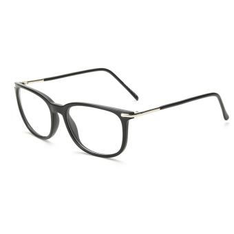 Fashion Rectangle Glasses Black Frame Glasses Plain for Myopia Women Eyeglasses Optical Frame Glasses Oculos Femininos Gafas - Intl ...