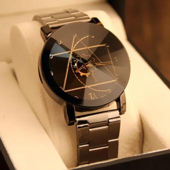 Fashion Watch Stainless Steel Women Quartz Analog Wrist Watch - intl