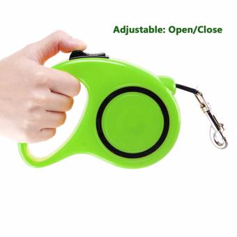 Flexi Explore Retractable Dog Leash Green