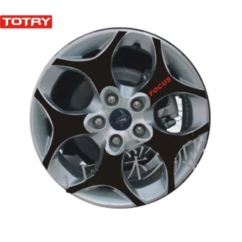 Ford Focus carbon fiber stickers modified wheel Wheel