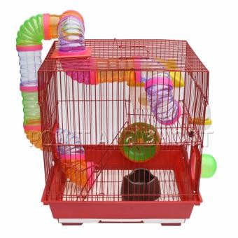 Furry Life Happy World Hamster Small Animal Cage