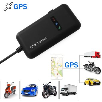 GPS Vehicle Tracker Real-time Locator GSM Motorcycle Car Bike Antitheft - intl