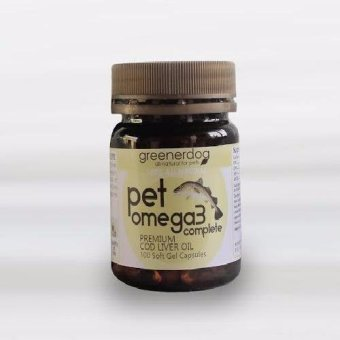 GREENERDOG PET OMEGA 3 Premium Soft Gel Cod Liver Oil (100pcs) Price Philippines
