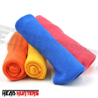 Head Hunters Assorted Color Multi-Purpose Micro Fiber CleaningTowel Washing Cloth For Car Cleaning Household 29*
