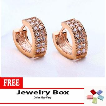 Heart Cuff Earring (Gold) with Free Jewelry Box