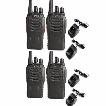 HINTO W-168 UHF 400-470 MHz Signal Frequency Single Band 16Channels Two-Way Radio SET OF 4 Price Philippines