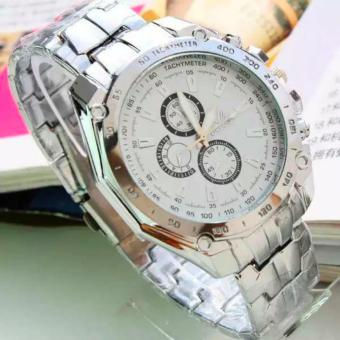 HONG KONG ORLANDO Stainless steel Waterproof Quartz Luxury MenWrist Watch White Price Philippines