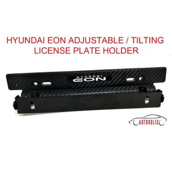 Hyundai Eon Adjustable / Tilting License Plate Holder  sc 1 st  New Price List Philippines & Price And Specification Spoon Carbon Tilting Plate Holder Full - New ...