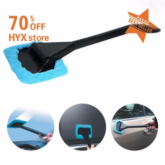 HYX HOT SALE!!!Car Windshield Auto Wiper Window Pivoting Head Microfiber Cleaner Brush Tool - intl