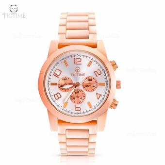 Tic Time T66 Stainless Steel Unisex Analog Wrist Watch (RoseGold) Price Philippines