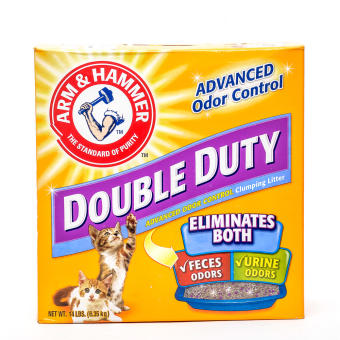 Harga Arm & Hammer Double Duty Cat Litter 14lbs