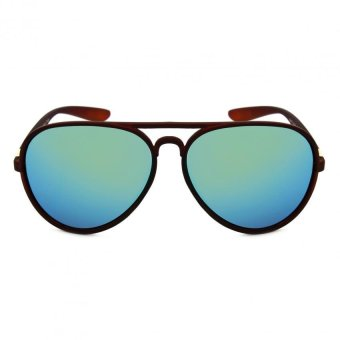 Maldives M023 Felix Sunglasses (Ocean Blue/Matte Brown) Price Philippines