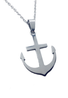 Stainless Steel Anchor Long Necklace 2W Price Philippines