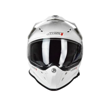 Just 1 by Nitek J-ONE 0013 J34 Solid White Full Face Helmet (2017 Collection) - MEDIUM Price Philippines