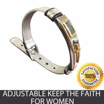 Adjustable Keep the Faith Bracelet (B1) Price Philippines