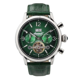 Harga Ingersoll Men's IN1826GR Belle Star Analog Display Automatic Self Wind Green Watch - intl