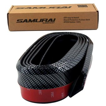 Harga Samurai Carbon Rubber Lip Chin and Protector