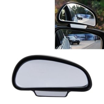 3R-092 Car Blind Spot Rear View Wide Angle Ajustable Mirror (Black) - intl Price Philippines