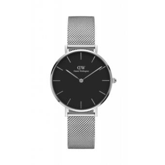 DANIEL WELLINGTON CLASSIC PETITE | 32MM STERLING (BLACK FACE) Price Philippines