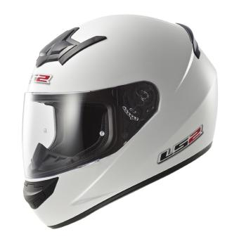 LS2 Full-Face FF352 Rookie Mono Helmets (White) Price Philippines