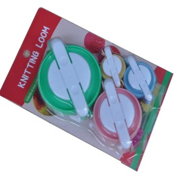 4pcs DIY Wool Knitting Craft Tool Set Pom-pom Maker for Fluff Ball - intl Price Philippines