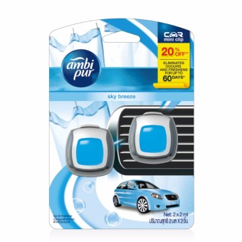 Ambi Pur Mini Car Air Freshener Sky Breeze 2ml Value Pack Price Philippines