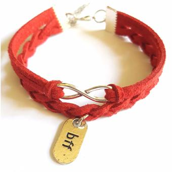 BFF Infinity Braided Red Bracelet Price Philippines