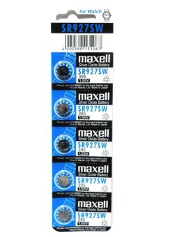 Harga Maxell Button Cell SR927SW Pack of 5