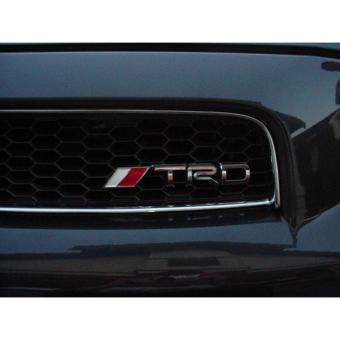 TRD Grill type emblem stainless silver Price Philippines