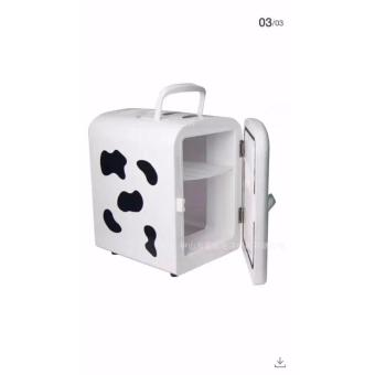 New 2017 Hong Kong Fashion Dalmatian Portable 4L Car Cold-Box Mini Refrigerator Price Philippines