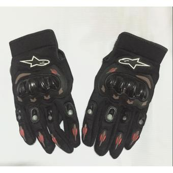 Harga A-STAR GLOVES BLACK (L)