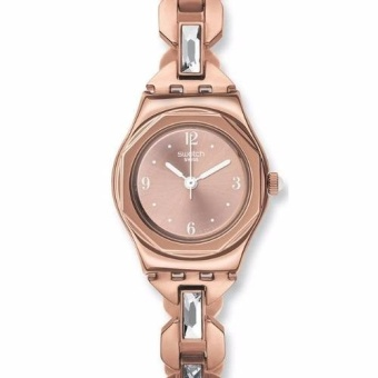 Swatch Women's IRONY OCTOSHINE Rose Gold-tone Bracelet Watch YSG144G - intl Price Philippines