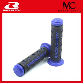 Harga Motor Craze Racing Boy Handle Grip Rubber 305 Thunderbolt BK ( Blue)