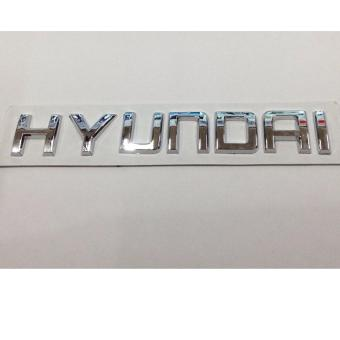 Hyundai Emblem Stick on type (Silver) Price Philippines
