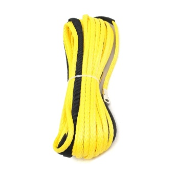 "3/16"" x 50' Synthetic Winch Line Cable Rope 5500 LBs Sheath For ATV UTV (Yellow) - intl Price Philippines"
