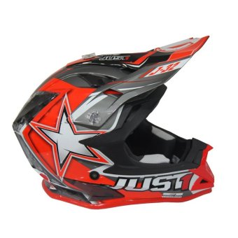 JUST1 J32 PRO MOTO X RED MOTOCROSS HELMET ( 2017 Collection) - LARGE Price Philippines