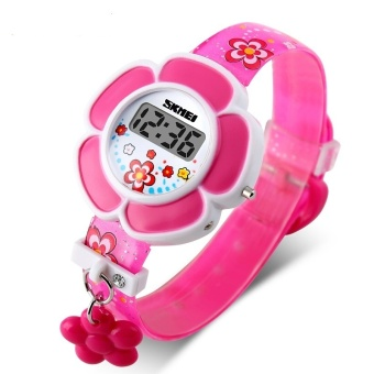 Sunflower Cute Kids Watches Children Watches LED Cartoon Silicone Digital Watch For Boys Girls Price Philippines