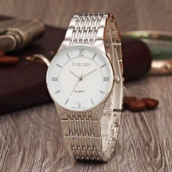 DI QIU REN Stainless Steel Women's Watch 003 (Silver/White) Price Philippines
