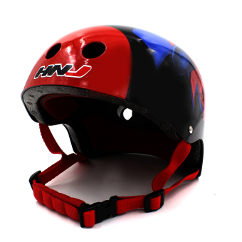 Harga Motor Craze HNJ Spyder Half Face Crash Safety Passenger Helmet